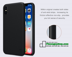 Ốp lưng Nillkin chính hãng cho iPhone X